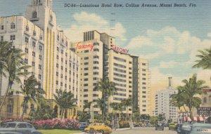 MIAMI BEACH , Florida , 1930-40s ; Hotel Row