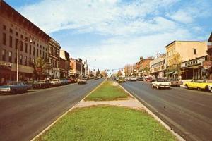 NY - Canandaigua, Main Street