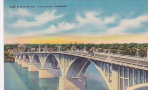Main Street Bridge Little Rock Arkansas