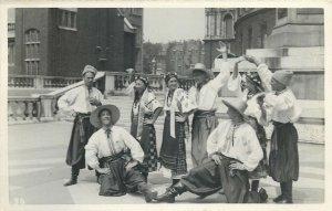 International Folk Dance Festival Exhibition London 1935 ethnic folklore Ukraine