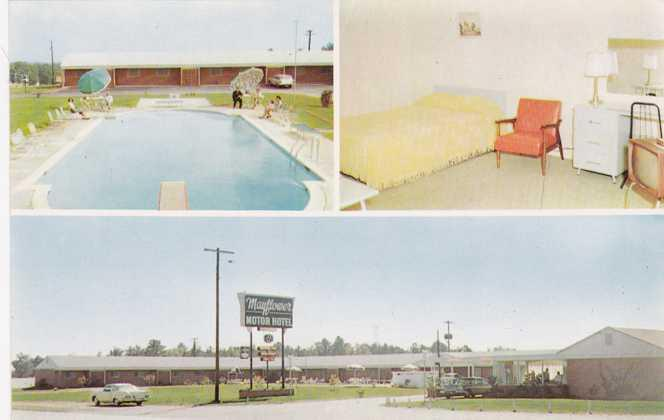 Mayflower Motor Motel - Hotel - Marietta GA, Georgia