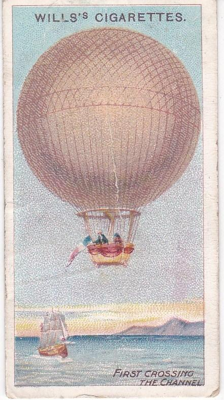 Cigarette Cards Wills AVIATION No 4 First Successful Crossing the Channel, 1785