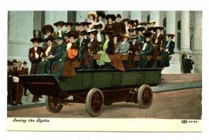 Tour Bus - Sightseeing Circa 1900