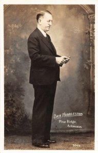 G77/ Pine Ridge Arkansas RPPC Postcard c30s Dick Huddleston Architect