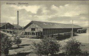 Bomhus Gavle Sweden Hyvleriet c1910 Postcard