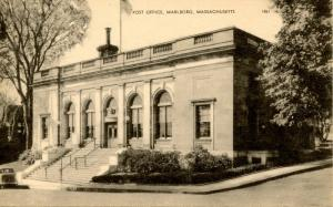 MA - Marlboro. Post Office and G.A.R. Building