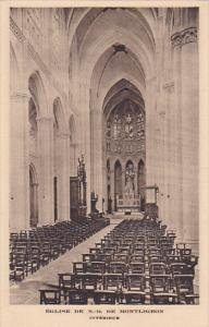 MONTLIGEON, Orne, France; Eglise de N.-D., Interieur, 00-10s