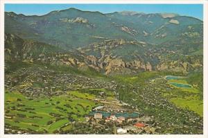 Colorado Colorado Springs Broadmoor Resort Complex Aerial View