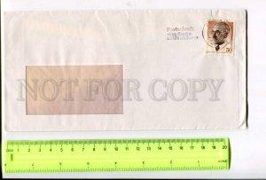 400209 GERMANY 1979 real posted Einbeck Postcheck das konto zahlt sich aus COVER