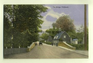 tp5896 - Essex - Horse & Carriage on the Bridge at Prittlewell  - Postcard