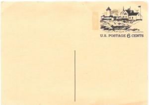 US Postcard Mint. Gloucester, Lighthouse.  Issued in 1972.
