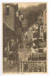High Street View, Clovelly (Devon), England, UK, 1900-1910s