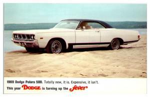 1969 Dodge Polara 500 Postcard *5C