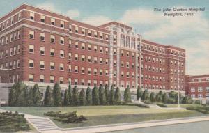 Tennessee Memphis John Gaston Hospital Curteich