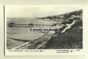 pp0347 - Isle of Wight , Ventnor Pier from the cliffs c1880 - Pamlin postcard