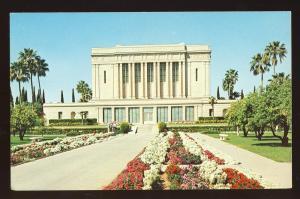 Mesa, Arizona/AZ Postcard, Mormon Temple, East View
