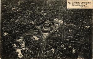 CPA Paris 9e - Panorama du quartier de l'Opera (273700)