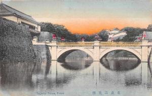 Japan Imperial Palace River Bridge Pont Kyoto