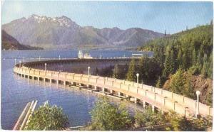 Cushman Dam # 1 Tacoma City Light Washington WN