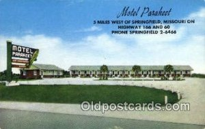 Motel Parakeet, Springfield, MO, USA Motel Hotel Unused close to perfect corners