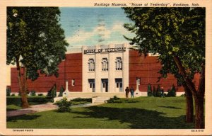 Nebraska Hastings Museum House Of Yesterday 1961 Curteich