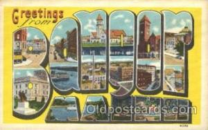 Banyor, Miami, Usa Large Letter Town, Towns, Postcard Postcards  Banyor, Miam...