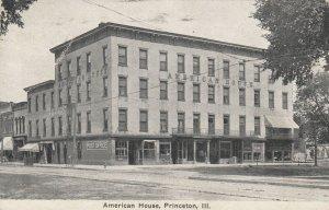 PRINCETON , Illinois , 1900-10s ; American House