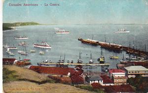 Venezuela  - American Squadron, La Guaira  1914