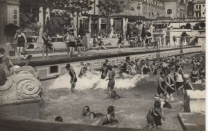 BUDAPEST, Hungary, 1920-30s; Hotel St. Gellert, Artificial wave Thermal-Bath # 1