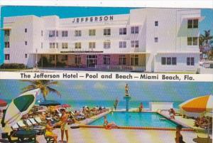 Florida Miami Beach The Jefferson Hotel 1958