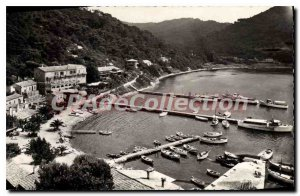 Postcard Old Port Cros Island View panoramic capture of Fort Mill