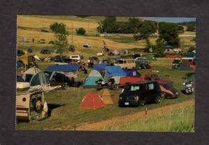 SD Black Hills Motor Classic Campground Tenting Sturgis South Dakota Postcard