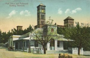 bermuda, Post Office and Parliament Building (1920) Stamp
