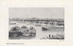 CALCUTTA , India , 00-10s ; Howrah Bridge