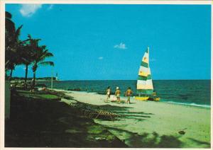Sailboat On The Beach Pompano Beach Florida