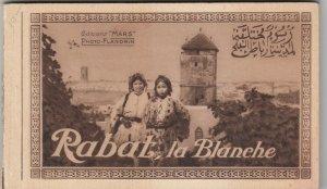 RABAT , la  , Morocco , 1910s;Postcard Booklet