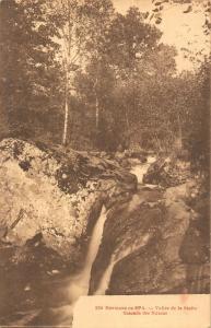 Belgium Environs de Spa Vallee Statte Cascade des Nutons Waterfall Postcard