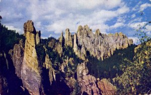 SD - Black Hills. Custer State Park, Cathedral Spires