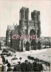 Modern Postcard Reims Cathedral