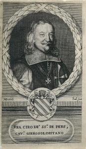 DUBOIS Italian poet CIRO DI PERS Cavaliere Order of Malta Knight Gierosolimitano