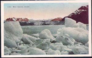 Muir Glacier Alaska unused c1920's