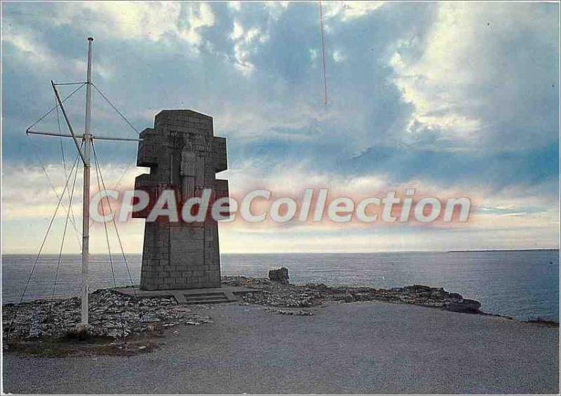 Postcard Modern Camaret Monument to the Bretons of France Libre Point Pen Hor