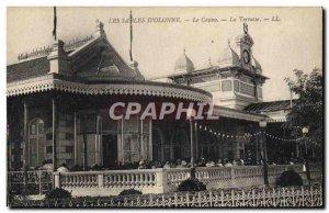 Old Postcard The D & # 39Olonne Sands Casino La Terrasse