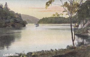 Steamer, Loch Katrine, Stirlingshire, Scotland, UK, 1900-1910s