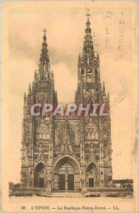 Old Postcard The Thorn The Basilica of Our Lady