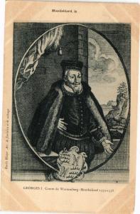 CPA MONTBÉLIARD - Georges I. Comte de Wurtenberg-MONTBÉLIARD 1553-58 (183094)