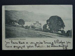 Scotland Loch Fyne STRACHUR Shean-Sluathe c1902 UB Postcard by Valentine