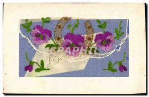 Old Postcard Fancy woven Horseshoe