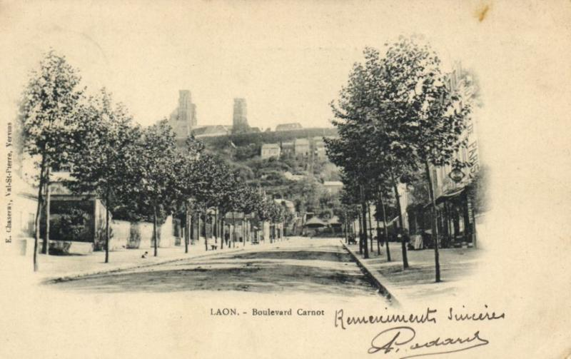 CPA LAON Boulevard Carnot (152114)