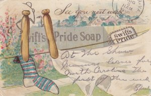Swift's Pride Soap, See you next week, Clothes pins talking, PU-1906